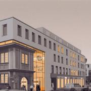 Wettbewerb Wohn- und Geschäftshaus Würzburg
